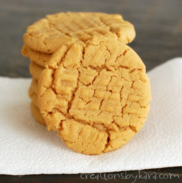 ... But I usually just opt for plain ole' peanut butter cookies. Enjoy