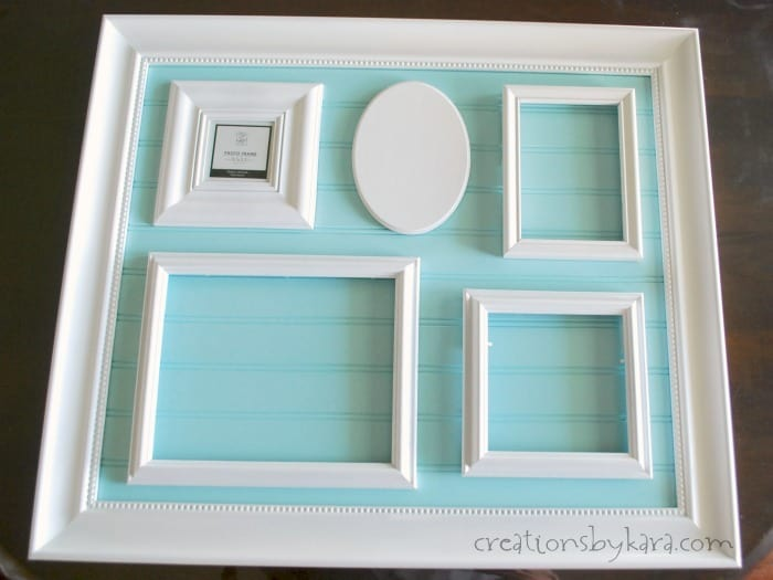 diy collage frame