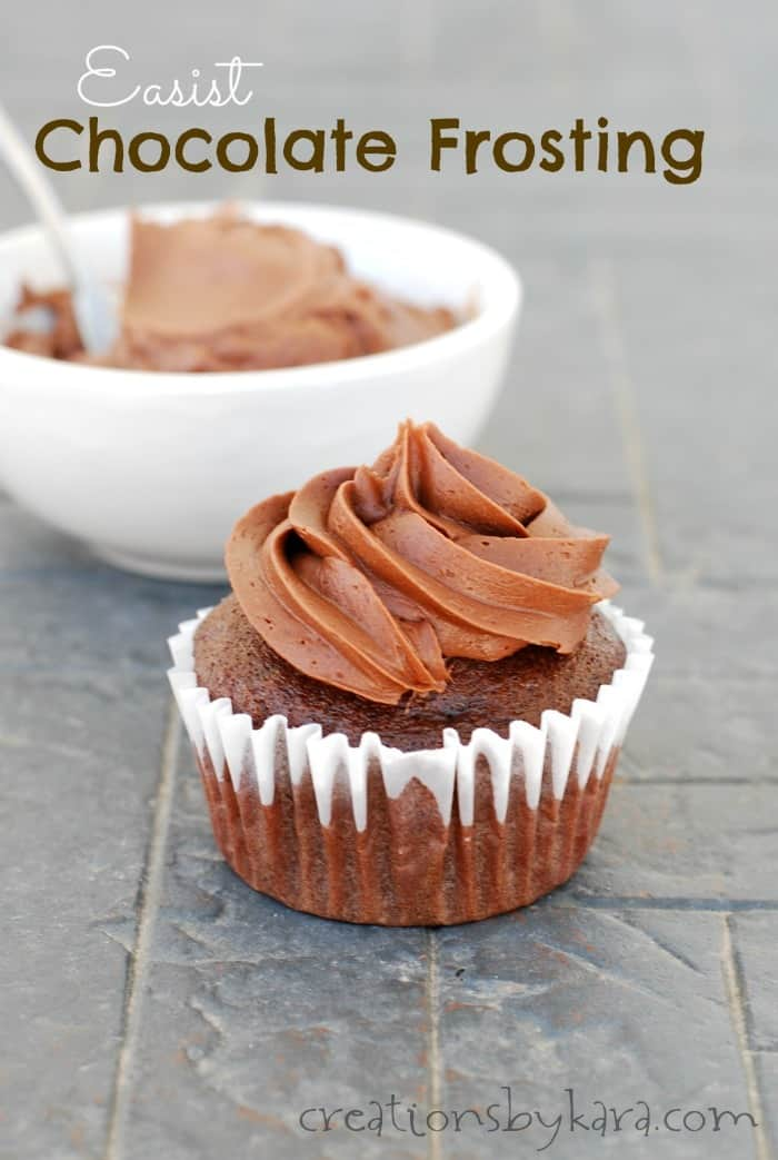 Quick Chocolate Frosting For Cake