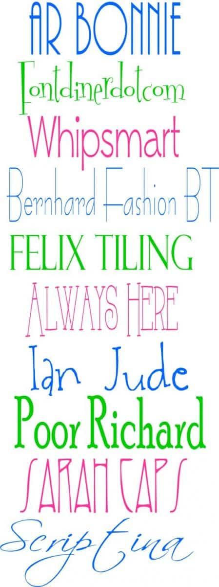 favorite-free-fonts