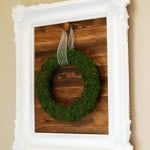 DIY Framed Rustic Wood Sign