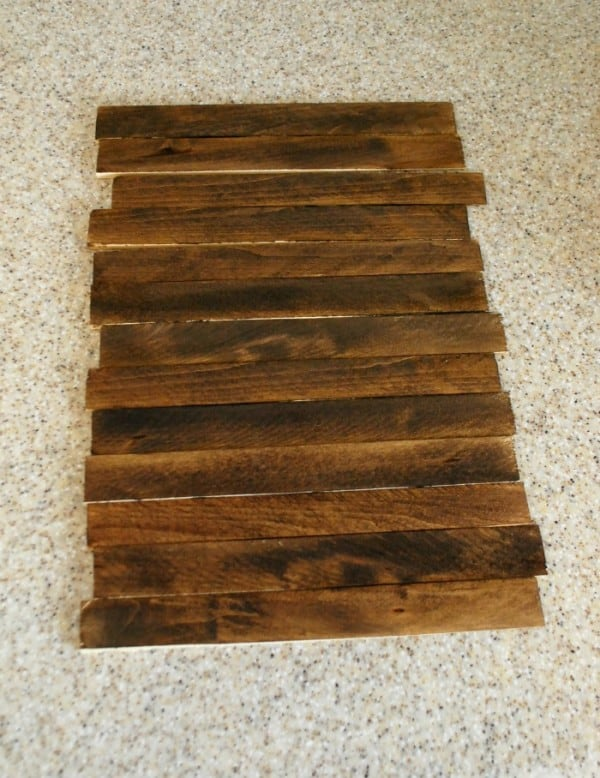 Rustic Wood Picture Frame