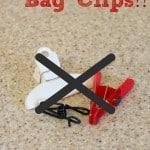 Tip for Saving Money {Cheap Bag Clips}