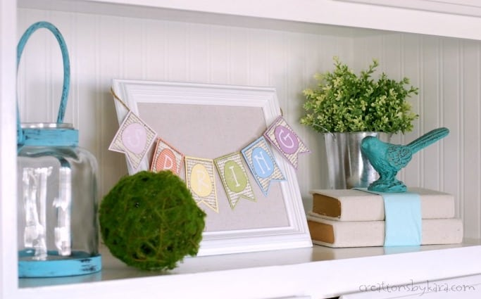 spring-decor-bookcase-styling