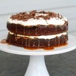 chocolate-turtle-cake