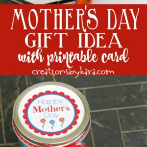 mother's day printable note card