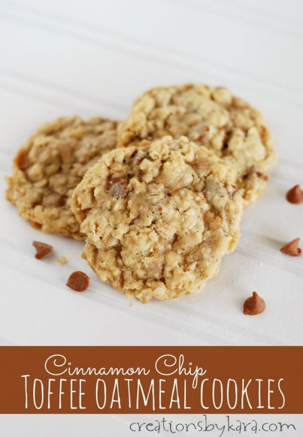 Cinnamon M&M Oatmeal Cookies Recipe — Dishmaps