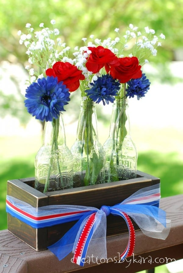 Rustic 4th of July Centerpiece