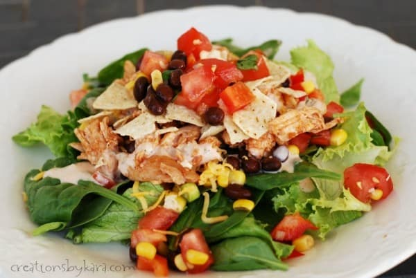 Recipe for delicious BBQ Chicken Salad