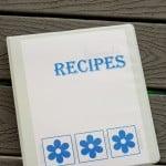 Free Printable Cookbook Covers