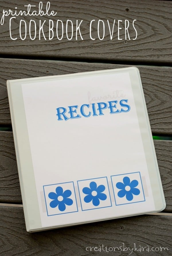 photograph relating to Recipe Book Cover Printable named Absolutely free printable cookbook handles