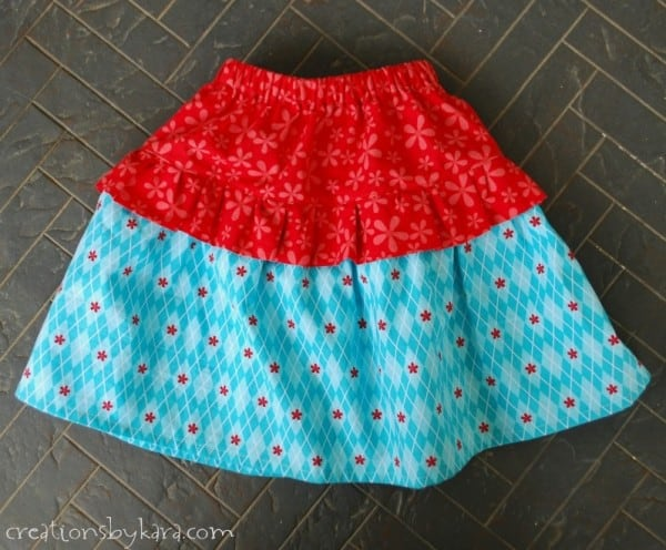Tiny Ruffle Skirt Tutorial ~ Creations by Kara