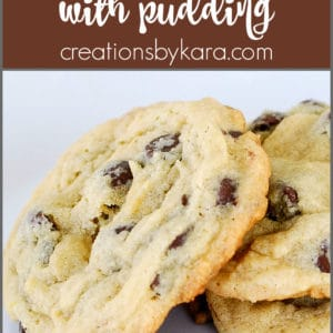 pudding chocolate chip cookies pinterest collage