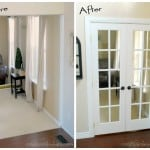French Doors Before and After