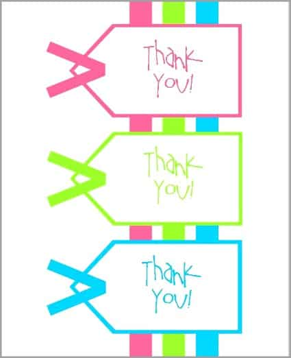 Printable Thank You Notes For Teacher Gifts