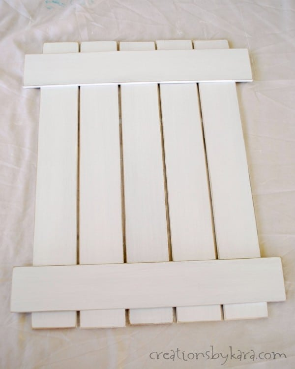 How To Make a White Picket Fence Sign