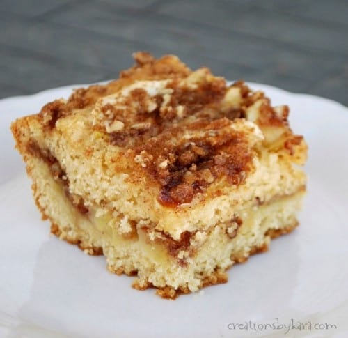 Recipe for Cinnamon Apple Coffee Cake
