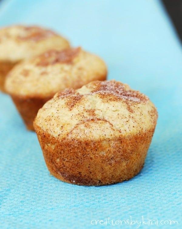 Recipe for Cinnamon Sugar Muffins
