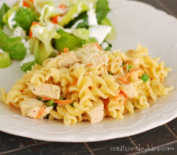 Recipe for Easy Lemon Chicken Pasta
