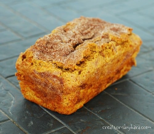 How to make Pumpkin Bread with Cinnamon Filling