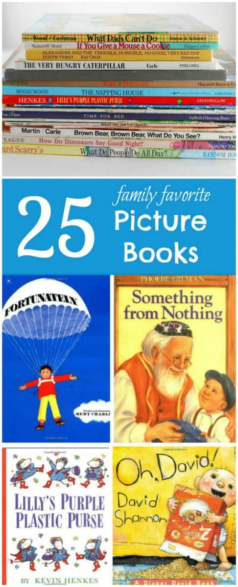 25 of the best children's picture books - my kids love these!
