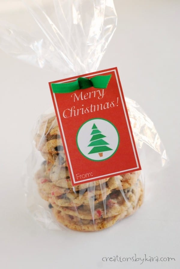 Merry Christmas Cookie Gift Tags-013-1