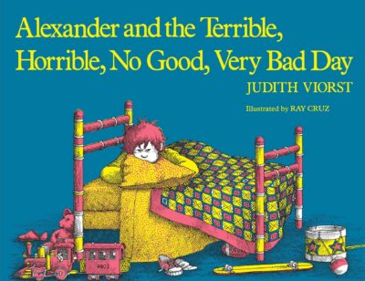 alexander and the terrible horrible no good very bad day cover