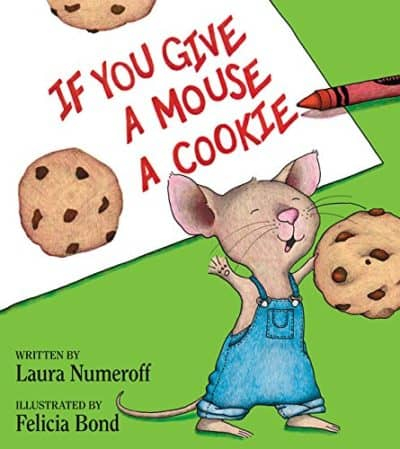 if you give a mouse a cookie cover