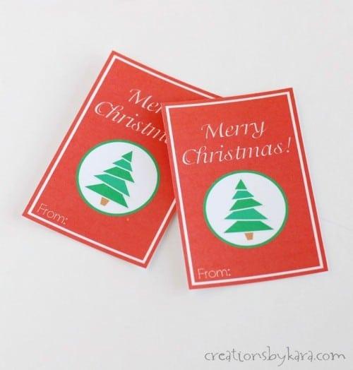 Free Christmas gift tags. Merry Christmas!