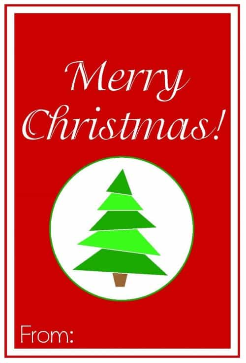 Sizzling image inside merry christmas tags printable