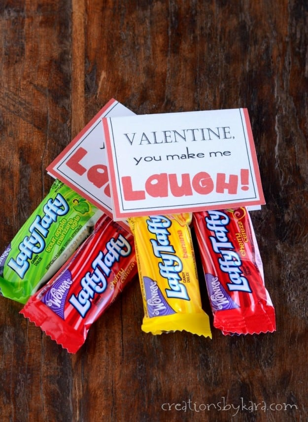 Laffy Taffy Printable Valentine Cards