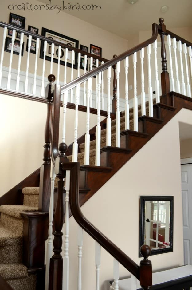 How to Stain a Wood Banister
