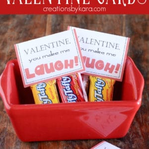 laffy taffy classroom valentine cards