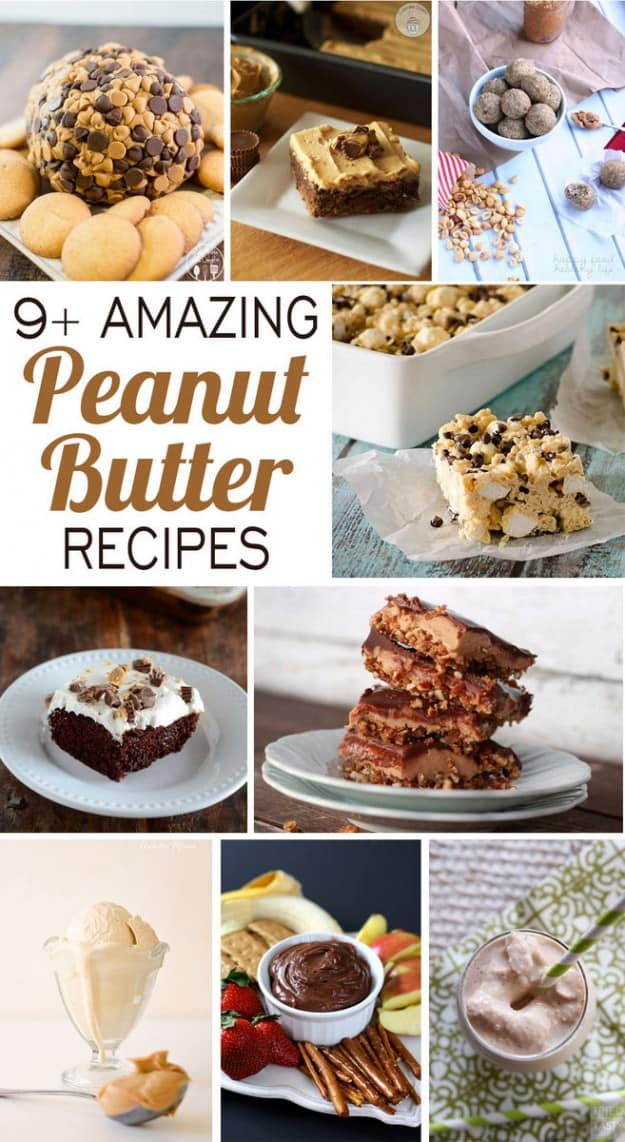 9 Recipes for National Peanut Butter Day!