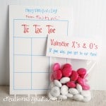 Kids love getting these fun Tic Tac Toe Valentine Cards!
