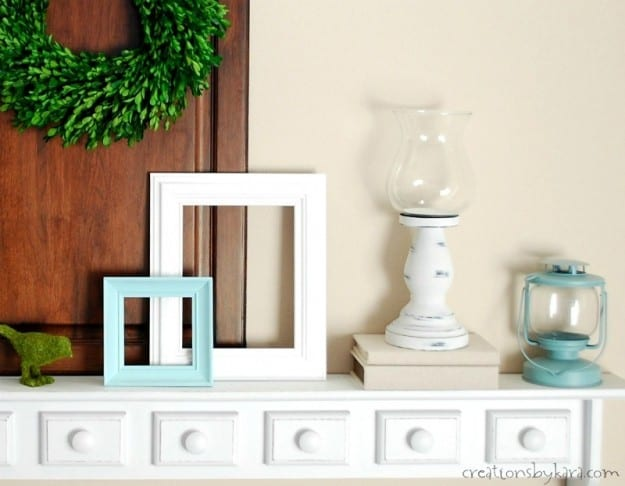 Easy Shelf Decor Ideas for Spring