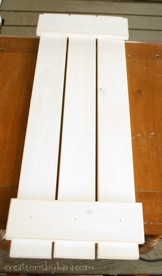 It takes just a few simple steps to make these Barn Door Shutters!