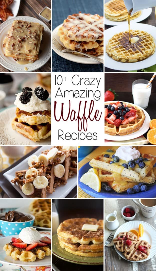 Over ten mouthwatering Waffle Recipes that you have to see!