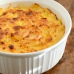 Au Gratin Potatoes are a delicious side dish any time of year!
