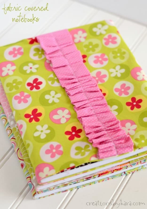 Fabric Composition Book Cover : Fabric composition notebook cover tutorial