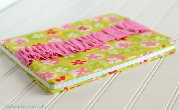 Fabric Covered Journal Tutorial