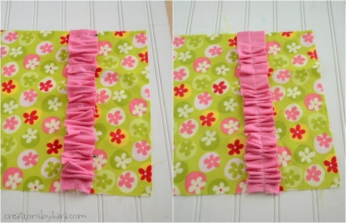 Ruffled Notebook Cover