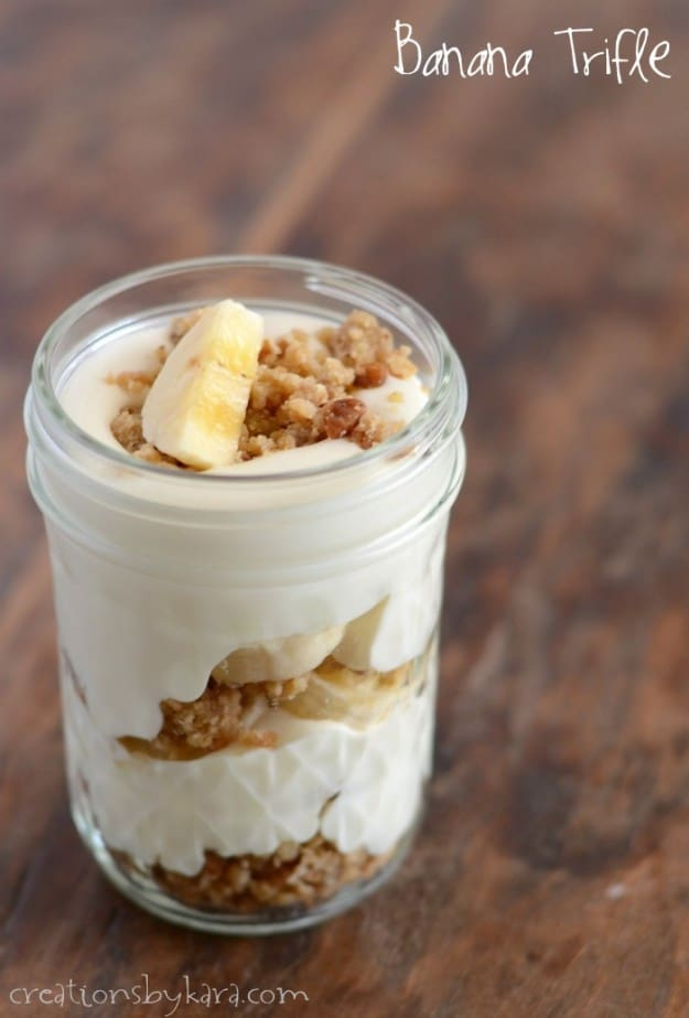 Creamy Banana Trifle Recipe