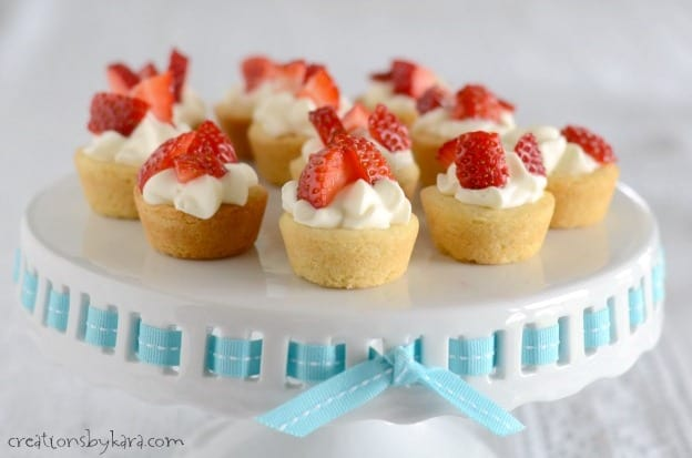 Your guests will go crazy for these Mini Strawberry Shortcake Cups!