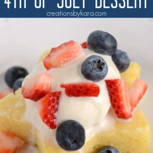 lemon berry 4th of july dessert idea