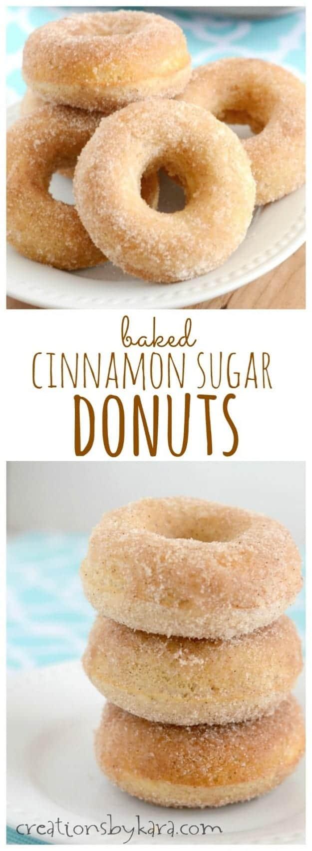 Donut Recipe Baked Using Box Cake Mix