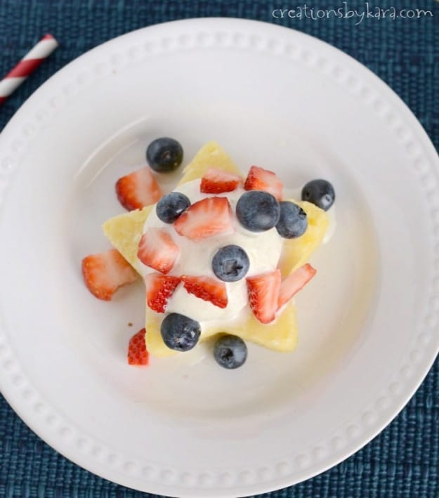 Round up of Red, White, and Blue recipes and crafts