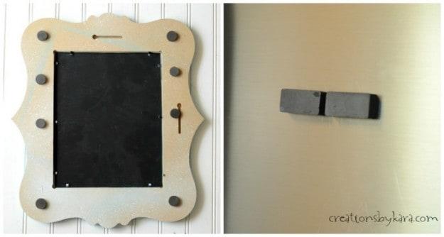 Magnet board for fridge