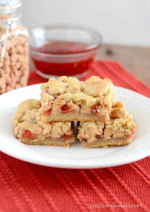 Peanut Butter and Jelly Bars-011-2