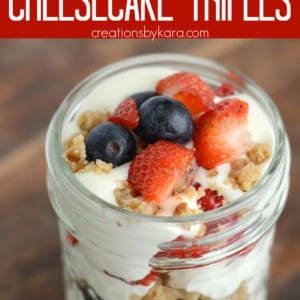 4th of july trifle recipe pinterest pin